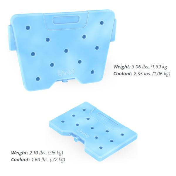 Liviri blue ice packs